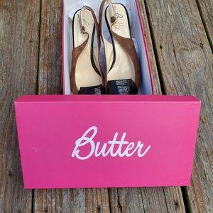Butter Heels Size 8